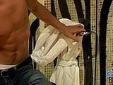 cums, dick, shower