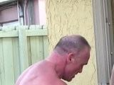 banged, bear, daddies, mature, outdoors, tattooed
